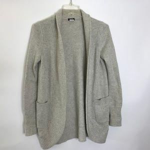 J.Crew XS Dream open shawl cardigan sweater 31973